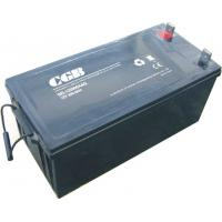 Wholesale EPS UPS Systems Deep Cycle Gel Lead Acid Battery 12V 200AH Black / Grey from china suppliers