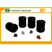 Wholesale Professional  PU Custom Dice CUP SET  Packed in PU box from china suppliers