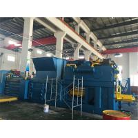 Wholesale Customized Plastic Baler Machine 55 kW With Touch Screen Inserted Valves from china suppliers