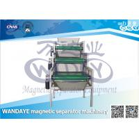 Wholesale Permanent 1.5 KW Belt Conveyor Magnetic Separator For Iron Remover from china suppliers