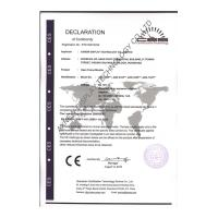 AXNEW DISPLAY TECHNOLOGY CO.,LTD Certifications