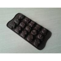 Wholesale Durable Novelty Silicone Chocolate Mould , 15Holes Nonstick Ice Cube Moulds from china suppliers
