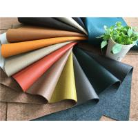 Wholesale Sustainable Leather Upholstery Fabric with natural leather fibres and water power from china suppliers