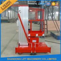 Wholesale Mobile Hydraulic Aerial Work Platform Lift With High Strength Aluminum Alloy Material from china suppliers