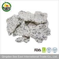 Quality Freeze Dried Dragon Fruit White Lyophilized tropical fruit Sugar Free/ instant fruits for sale