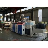 Wholesale Corrosion Resistance Corrugated Sheet Machine PVC Roofing Sheet Twin Screw Extruder from china suppliers