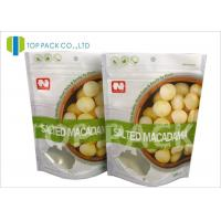 Wholesale Matte Effect ziplock custom stand up pouches , Dried Nuts flat pouch packaging Foil Lined from china suppliers