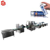 Quality Automatic Aerosol Spray Filling Machine for Spray Paint / Air Freshener for sale
