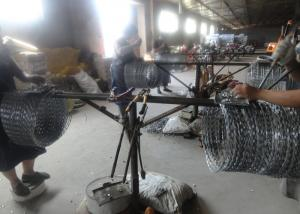 China CBT-65 500mm Razor Wire Mesh Fencing on sale