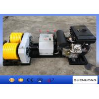 Wholesale 40KN Rated Load Diesel Cable Winch Puller 6 Grooves 240 mm Bottom Diameter from china suppliers