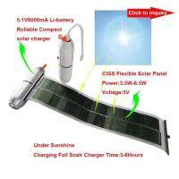 Wholesale Rollable Solar Full Charger with Flash Function ALL IN 1 GK-SC01 from china suppliers