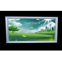 Wholesale High Brightness Slim LED Light Box , Single Side Aluminium Profile from china suppliers