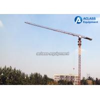 Quality P6016 Flattop Topless City Lifting Tower Cranes 10T 50m Height , GOST for sale
