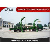Wholesale 40 Foot Side Loader Truck Trailer ,  Self Lift Trailer Separate Diesel Engine Available from china suppliers