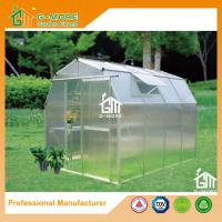 Wholesale 8'x6'x6.7'FT Silver Color Easy DIY Barn Style Garden Greenhouse from china suppliers