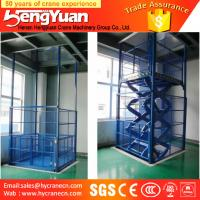 Wholesale 300kg-3000kg reliable and high-grade guide rail chain hydraulic lift from china suppliers