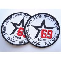 Wholesale Rubber 3D Custom Clothing Patches Embosssed With Backing from china suppliers