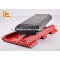 Wholesale Red / Yellow High Rubber Track Pads For Excavators Long Durability from china suppliers