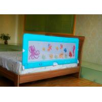 Wholesale 150cm Blue Collapsible Security Bed Guard Rail for toddler bed from china suppliers