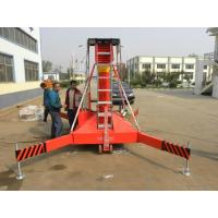 Quality Warehouse Hydraulic Industrial Vertical Lift , Electric Lift Platform 0.8 * 0.8m for sale