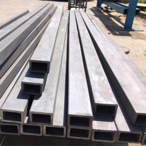 China Round hole shape RBSIC/ SSIC/ SISIC/ sic silicon carbide ceramic tube pipe beam on sale