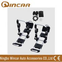 Wholesale Foldable Roof Mount Metallic White T Style Kayak Roof Carrier Rack Carring 2 Canoe from china suppliers