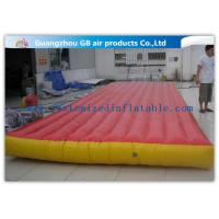Wholesale Red Interactive Inflatable Sports Games Air Mattress For Gym Bungee Jumping from china suppliers