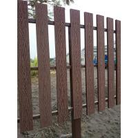 Wholesale Natural Wooden Look WPC Decking Strong WPC Rail Fence For Farm from china suppliers