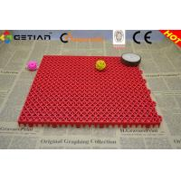Wholesale CE Indoor Badminton Court Flooring , Portable Plastic Badminton Flooring from china suppliers