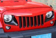Wholesale Jeep Wrangler 2007+ Accessories Jeep Jk Wrangler Falcon Grille from china suppliers