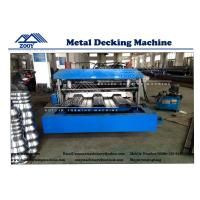 Wholesale 22KW Main Power Floor Decking Roll Forming Machine For 0.8-1.6mm Thickness PPGI Sheet from china suppliers