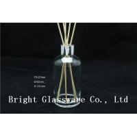 Wholesale clear 150ml empty aroma reed diffuser bottle with reed sticks from china suppliers