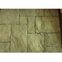 Wholesale Custom Rectangle Faux Stone Siding For Houses Low Water Absorption from china suppliers