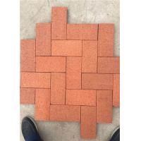 Wholesale Standard Size Solid Clay Baking Brick , Rustic Decorative Brick Pavers from china suppliers