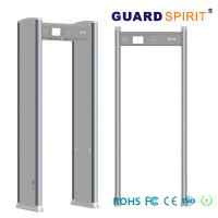 Wholesale Portable Door Frame metal detector body scanner Airport access control LED Alarm from china suppliers
