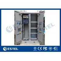 Wholesale Solid Two Bay Telecom Cabinets Outdoor With Cooling / Monitoring System from china suppliers