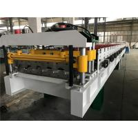 Wholesale 0.4 - 0.6mm Steel Thickness Tile Roll Forming Machine One Complete Chain With Decoiler from china suppliers