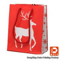 Wholesale Environmentally Friendly Paper Christmas Gift Bags With Custom Printed Logo from china suppliers