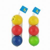 Wholesale 3-In-1 6.3cm PU Foam Smiley Face Balls Toy Set from china suppliers