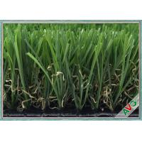 Wholesale 3 / 8 Inch Landscaping Snythetic Artificial Grass Carpet Outdoor Green Color from china suppliers