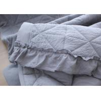 Wholesale Washable Cotton Throw Blanket , Quilted Multiple Colors Luxury Throw Blanket from china suppliers