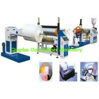 Wholesale Electricity Powered EPE Foam Sheet Extrusion Line 30-80 Kgs / H Output from china suppliers
