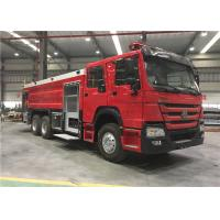 Wholesale Euro II 4x2 Sinotruk Fire Fighting Truck 7000l Water Foam Fire Rescue Truck from china suppliers