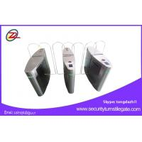 Wholesale DC 24V Flap rfid Security Turnstiles Pedestrian access control system from china suppliers