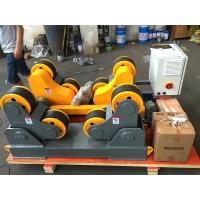 Buy cheap 40 T Automatic Self Adjustment Pipe Welding Rollers With Wireless Hand Control Box from wholesalers