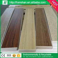 Quality PVC  floor interlocking wood flooring reinforcement tile from hanshan floor factory for sale