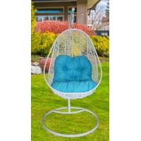 Wholesale Outdoor Garden Furniture Modern Metal Egg Shaped Swing Hanging Chair from china suppliers