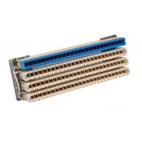 Wholesale Rack Mount 100 Pair MDF Terminal Block , Grey / Blue Main Distribution Frame from china suppliers