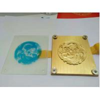 Wholesale customizable bronze Plates for hot foil stamping machine from china suppliers