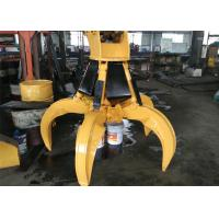 Wholesale Excavator attachment of Rotate Hydraulic Orange Peel Grab for PC220 from china suppliers
